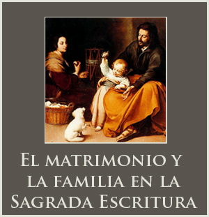 El matrimonio y la familia en la Sagrada Escritura
